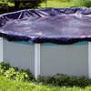 Swimline 21 Foot Round Above Ground Winter Swimming Pool Cover, Blue | PCO824 - image 2 of 4