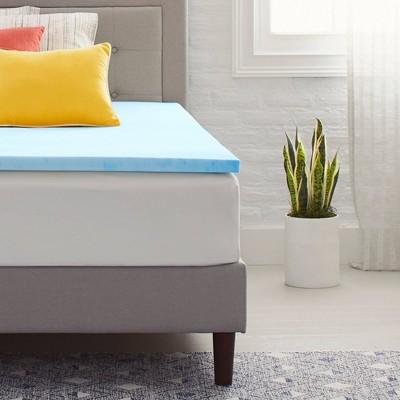 "1.5"" Gel Infused Memory Foam Mattress Topper - Comfort Revolution"