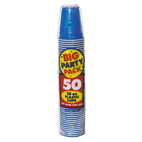 50ct Blue Cup Party Pack - image 1 of 1