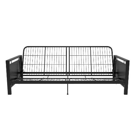 Henley Metal Arm Futon Frame Black Dorel Home Products