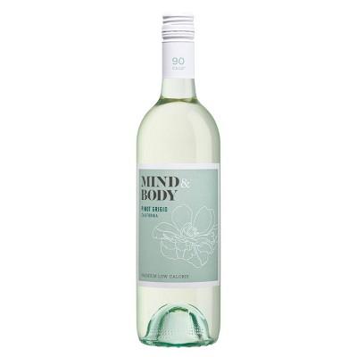 Mind & Body Pinot Grigio White Wine - 750ml Bottle