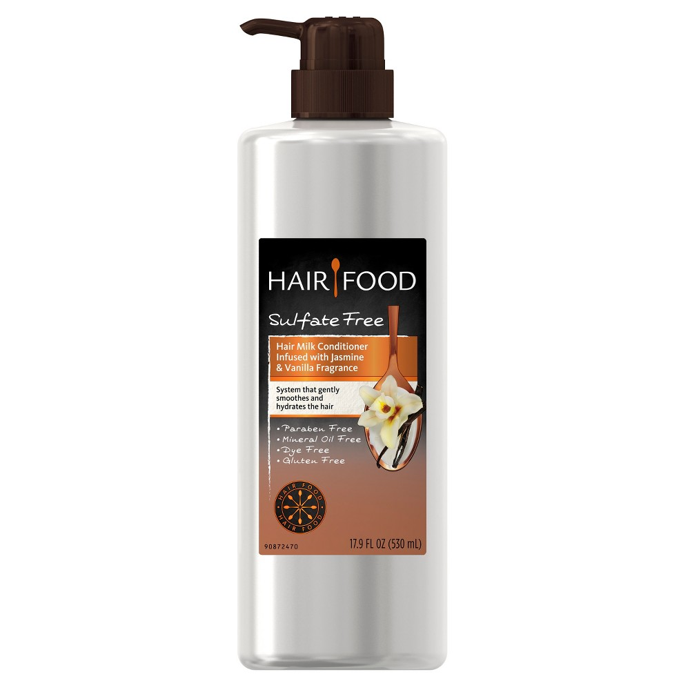 Hair Food Hair Milk Infused with Jasmine & Vanilla Fragrance Conditioner - 17.9 fl oz