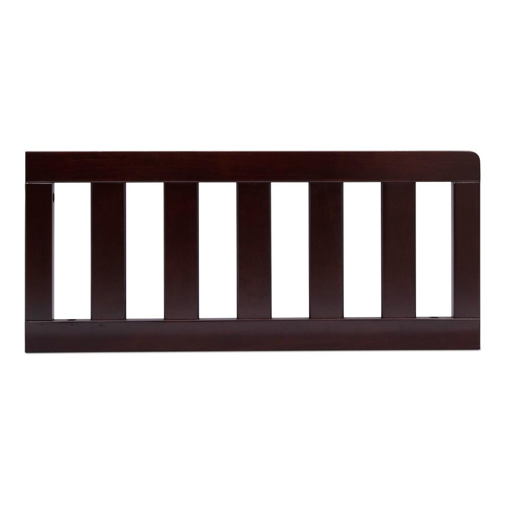 Delta Children Toddler Guardrail - Dark Chocolate