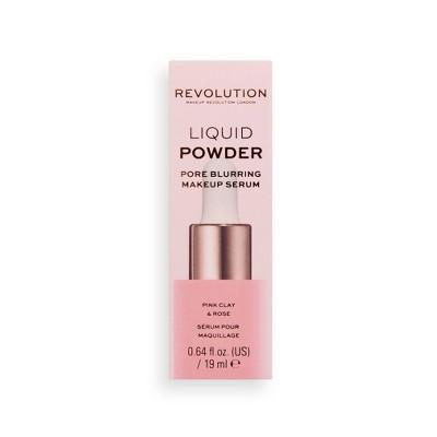 Makeup Revolution Liquid Powder Make Up Serum - 0.64 fl oz