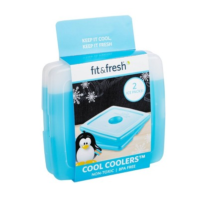 Fit & Fresh Cool Coolers Ice Pack - 2pc