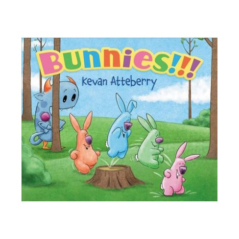 Bunnies!!! Board Book - by  Kevan Atteberry (Board_book) - image 1 of 1