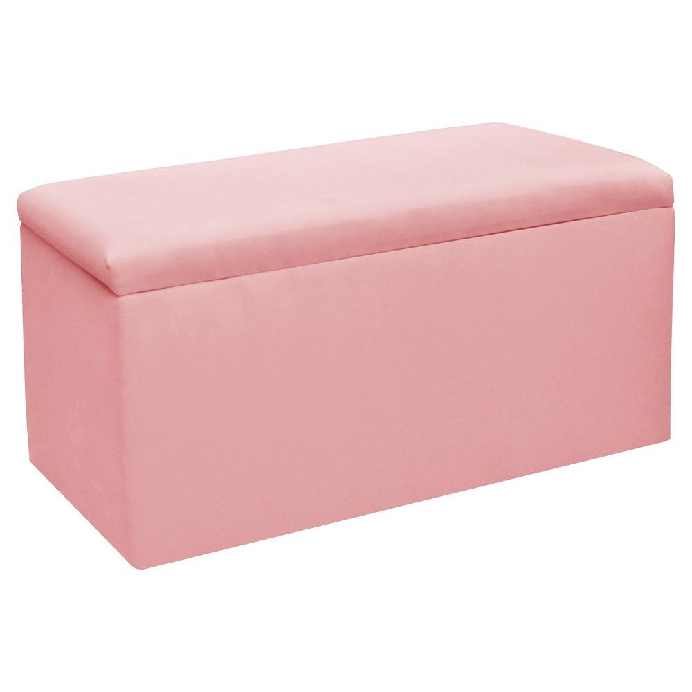 Image of Skyline Furniture Storage Bench - Duck Light Pink - Skyline Furniture