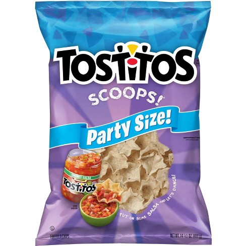 Tostitos Scoops! Tortilla Chips - 14.5oz - image 1 of 4