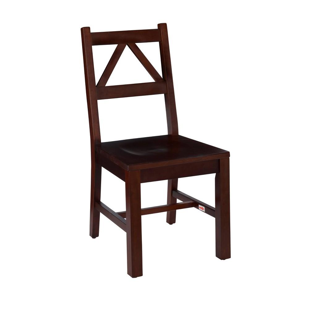 Titian Chair Espresso Brown - Linon Titian Chair Espresso Brown - Linon Gender: Unisex. Pattern: Solid.