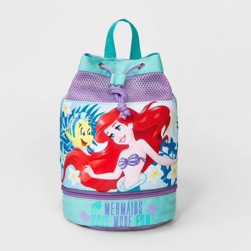 Toddler Girls' Disney Ariel Swim Barrel Backpack - image 1 of 2