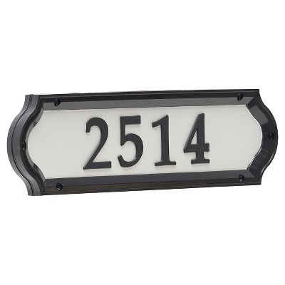 4.5  Nite Bright Richfield Home Address Sign - Whitehall Products