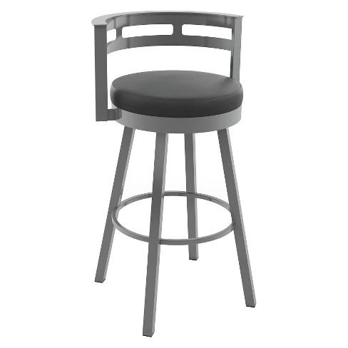 Astounding Render Swivel 26 Counter Stool Steel Amisco Bralicious Painted Fabric Chair Ideas Braliciousco