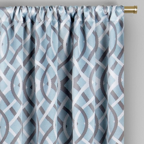 Alperton Blackout Window Curtain Robins Egg Blue Target