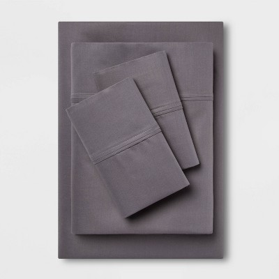 Performance Sheet Set (Queen)Dark Gray 400 Thread Count - Threshold™