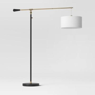 Cantilever Drop Pendant Floor lamp (Includes LED Light Bulb) Black - Threshold™