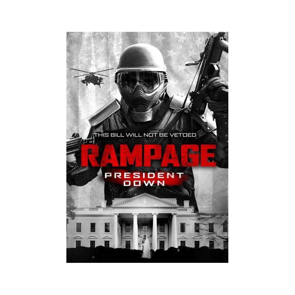 Rampage President Down Dvd 2016
