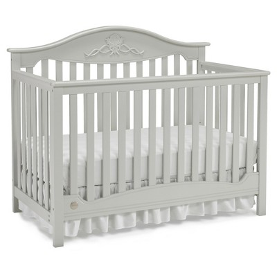 Fisher-Price Standard Full-sized Crib Lt Gray