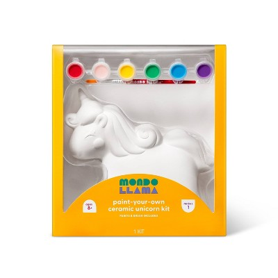 Paint-Your-Own Ceramic Unicorn Kit - Mondo Llama™