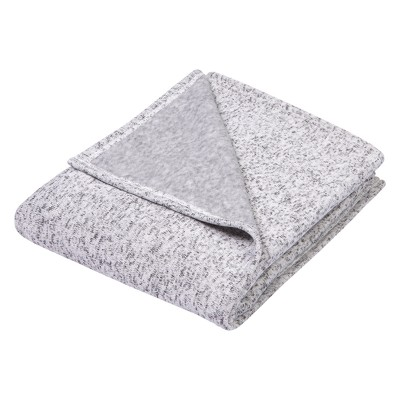 Trend Lab Sweatshirt Knit Baby Blanket - Gray