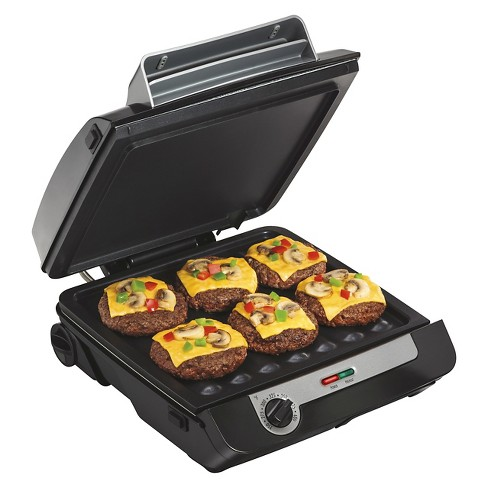 "Hamilton Beach 3-in-1 MultiGrill 100"" Griddle/Indoor Grill - 25600 - image 1 of 4"