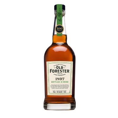 Old Forester 1897 Bottled in Bond Kentucky Straight Bourbon Whisky - 750ml Bottle
