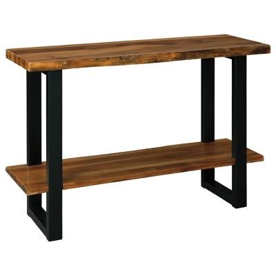 Brosward Sofa/Console Table Black/Brown - Signature Design by Ashley