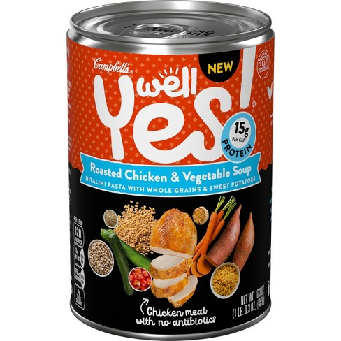 Well Yes! Roasted Chicken & Vegetable Soup - 16.3oz - image 1 of 4