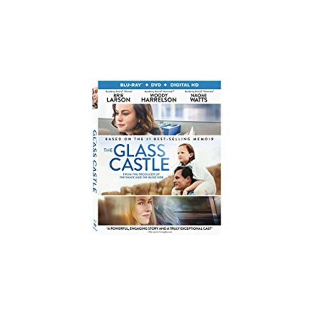 The Glass Castle (Blu-ray + Dvd + Digital)