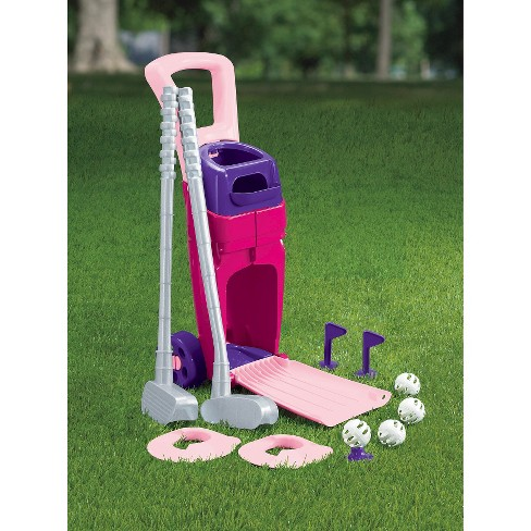 American Plastic Toys Jr Pro Golf Set- Pink - image 1 of 2