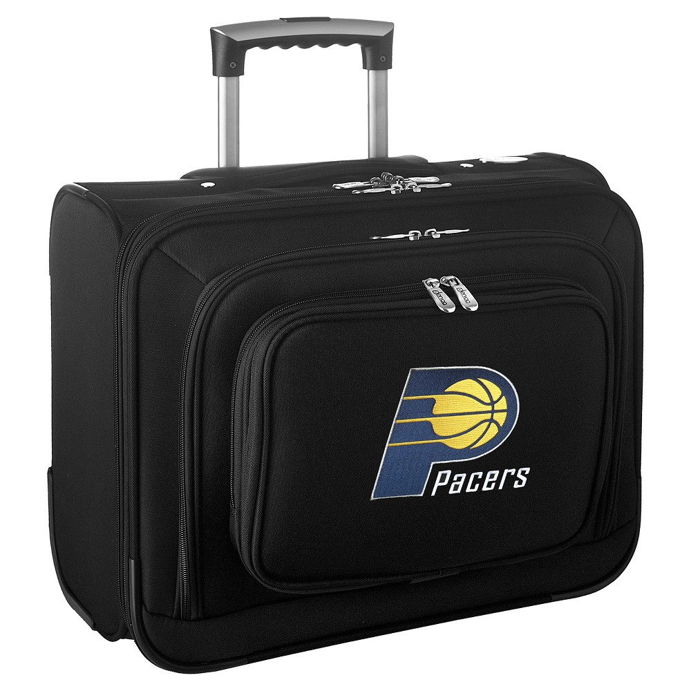 NBA Indiana Pacers Mojo Wheeled Laptop Suitcase