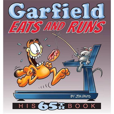 Garfield Eats and Runs - by  Jim Davis (Paperback) - image 1 of 1