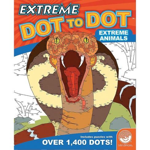 MindWare Extreme Dot To Dot: Extreme Animals - Brainteasers - image 1 of 3