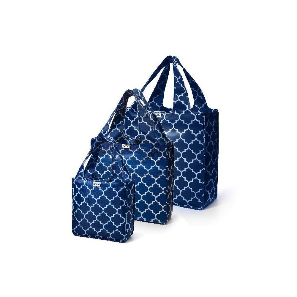 Image of RuMe Matching Tote Set - Downing Navy, Downing Blue