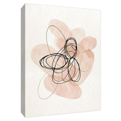 Sweet Scribbles Gallery Wrapped Canvas - PTM Images