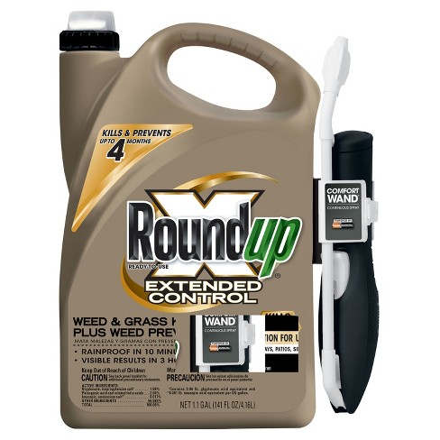 Roundup Extended Control Weed & Grass Killer 1.1 Gallon Ready to Use Wand - image 1 of 3