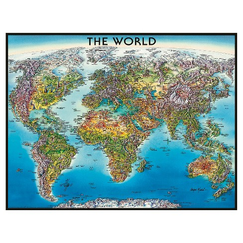 Ravensburger World Map Puzzle 2000pc Target