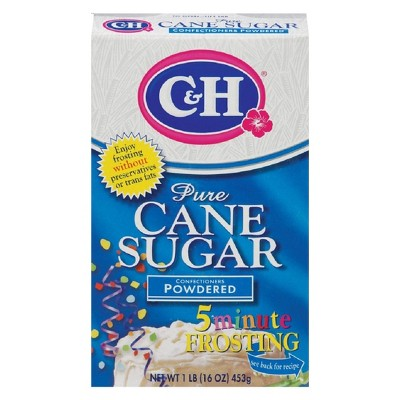 Sugar & Sweetener: C&H Confectioner's Powdered Sugar