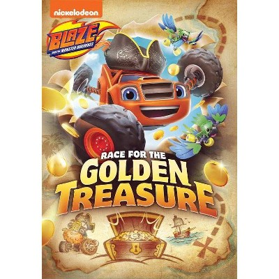 Blaze and the Monster Machines: Race for the Golden Treasure (DVD)