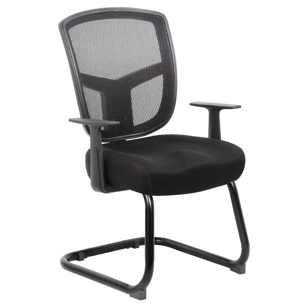 Contract Mesh Guest Chair - Black - Boss