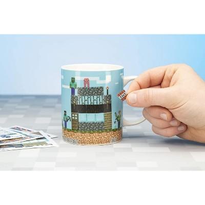 Paladone Products Ltd. Minecraft Build A Level 11oz Ceramic Coffee Mug
