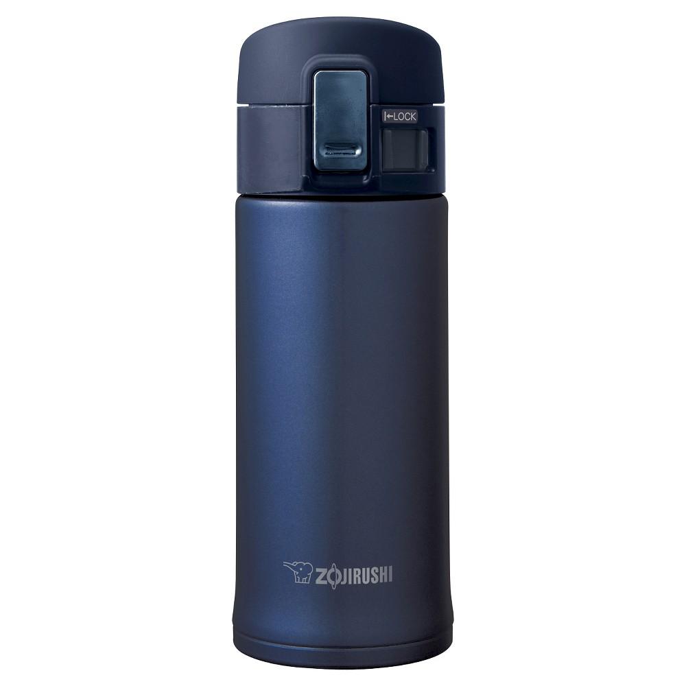 Image of Zojirushi 12oz Stainless Steel Vacuum Insulated Mug with SlickSteel Interior - Smoky Blue