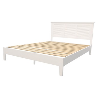 Emerie Queen Bed White - Buylateral