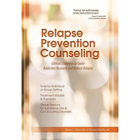 Relapse Prevention Counseling - by  Dennis C Daley (Paperback) - image 1 of 1
