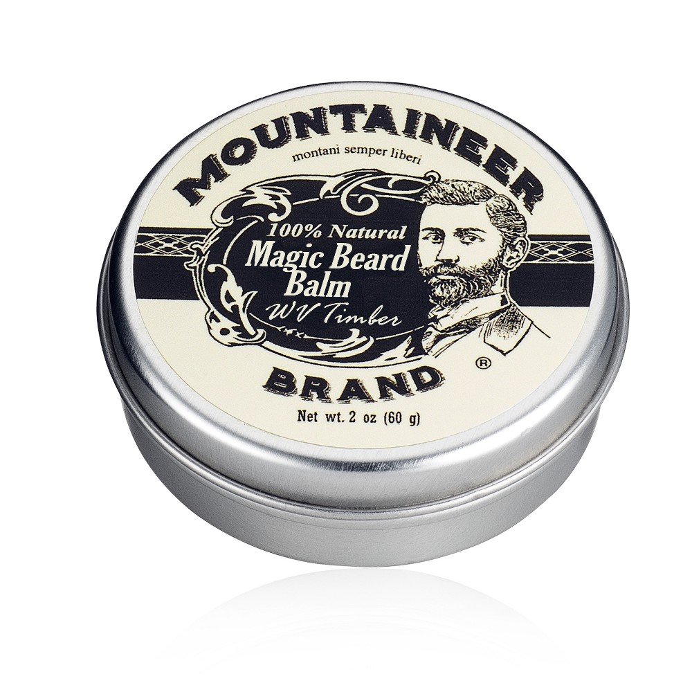 Image of Mountaineer Brand WV Timber Magic Beard Balm 2oz