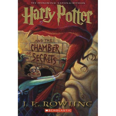 Harry Potter and the Chamber of Secrets - by  J K Rowling (Hardcover) - image 1 of 1