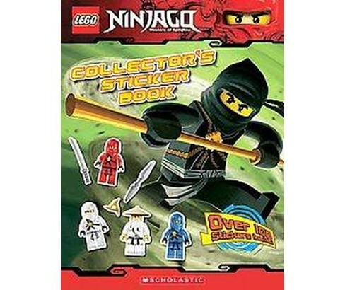 Collector's Sticker Book ( Lego Ninjago) (Paperback) by Scholastic Inc. - image 1 of 1
