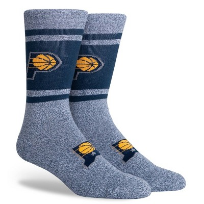 NBA Indiana Pacers Varsity Crew Socks - L