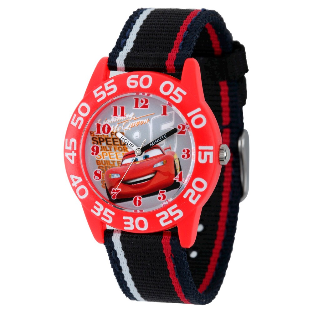 Image of Boys' Disney Cars Plastic Watch - Black, Boy's