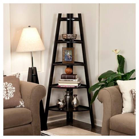 Five Tier Corner Ladder Display Bookshelf Target