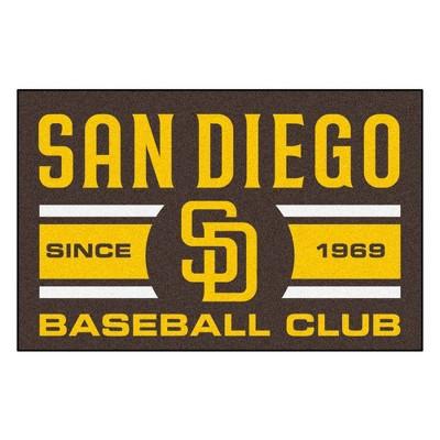 "MLB 19"" x 30"" Baseball Club Starter Rug"